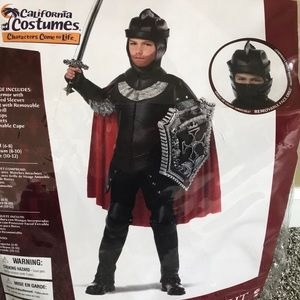 Boys Knight Halloween costume, size 8-10